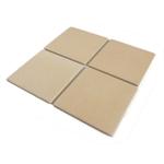 Bialetti Taste of Italy Ceramic Pizza Stone Tile, Set of 4