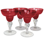 Artland Iris Ruby 8 Ounce Margarita Glass