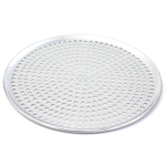 Browne Basics Aluminum Perforated Pizza Tray, 12 Inch
