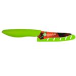 Kai Pure Komachi HD Strawberry Pattern Stainless Steel 3.5 Inch Berry Knife with Sheath