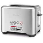 Breville The Bit More Brushed Stainless Steel 2 Slice Toaster