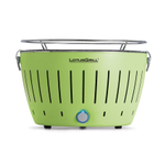 LotusGrill Lime Green Smokeless Charcoal Grill With Transport Bag