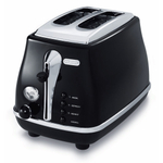 Delonghi Icona Black 2-Slice Toaster