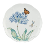 Lenox Butterfly Meadow Blue Porcelain 9 Inch Accent Plate