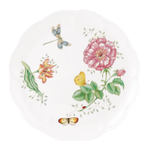 Lenox Butterfly Meadow Dragonfly Porcelain 10.75 Inch Dinner Plate