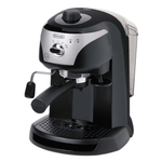 Delonghi Black Pump Driven Espresso and Cappuccino Machine