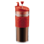 Bodum Travel Press Red 15 Ounce Coffee Maker