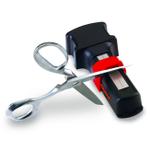 Chef's Choice M490 Manual Diamond Hone Black Scissors Sharpener