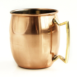 Moscow Mule Polished Copper 18 Ounce Drinking Mug