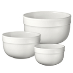 Emile Henry Nougat Ceramic 3 Piece Mixing Bowl Set