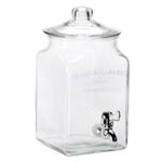 Anchor Hocking I.J. Collins Glass 1.5 Gallon Beverage Dispenser with Spigot