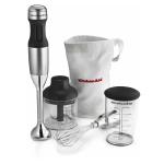 KitchenAid Contour Silver Stainless Steel 3 Speed Hand Blender