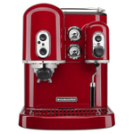 KitchenAid Pro Line Series Empire Red Espresso Maker