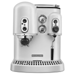 KitchenAid Pro Line Series Frosted Pearl White Espresso Maker