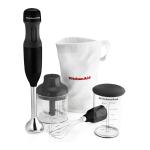 KitchenAid Onyx Black Stainless Steel 3 Speed Hand Blender