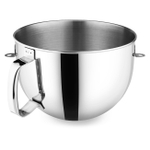 KitchenAid 6 Quart Polished Stainless Steel Bowl with Comfortable Handle