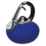 Chantal Classic Blue Enamel on Steel 1.8 Quart Loop Teakettle