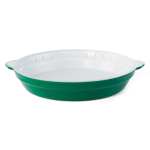 Creo SmartGlass 9 Inch Bali Light Green Round Pie Pan