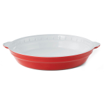 Creo SmartGlass 9 Inch Shanghai Light Red Round Pie Pan