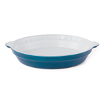 Creo SmartGlass 9 Inch Mediterranean Light Blue Round Pie Pan