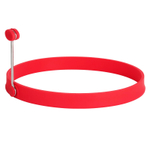 Trudeau Red Silicone 6 Inch Pancake Ring
