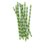 Kikkerland Box of 144 Bamboo Paper Straws