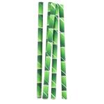 Kikkerland 36 Count XL Bamboo Paper Straws