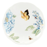 Lenox Butterfly Meadow Blue Party Plate