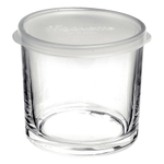 Bormioli Rocco Frigoverre 23.75 Ounce Round Container with Frosted Lid
