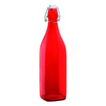 Bormioli Rocco Swing Red 33.75 Ounce Glass Bottle