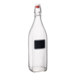 Bormioli Rocco Swing 33.75 Ounce Glass Bottle With Chalk Label