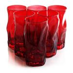 Bormioli Rocco Sorgente Red 15.5 Ounce Cooler Glass