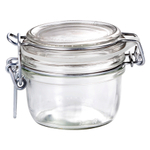 Bormioli Rocco Fido 4.25 Ounce Round Glass Jar With Lid