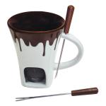 Swissmar Nostalgia 4 Piece Chocolate Fondue Mug Set