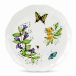Lenox Butterfly Meadow Tiger Swallowtail 10.75 Inch Dinner Plate