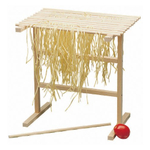 Cucina Pro Wooden Pasta Drying Rack