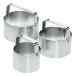 Fox Run 3 Piece Biscuit Cutter Set