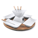 Swissmar Sensui 12 Piece Chocolate Fondue Set