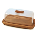 Swissmar Acacia Rectangle Serving Board with Dome