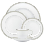 Lenox Belle Haven Bone China 5 Piece Dinnerware Place Setting