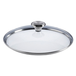 Le Creuset Signature Tempered Glass Lid with Knob Handle For 10 Inch Stainless Steel or Nonstick Fry Pan