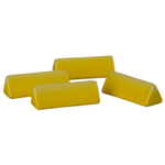 Le Creuset Soleil Yellow Stoneware Cheese Marker, Set of 4