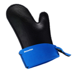 KitchenGrips Blueberry and Black FLXaPrene Large Chef's Mitt