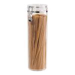 OGGI Acrylic 58 Ounce Pasta Canister with Airtight Clamp Lid
