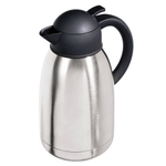 Oggi Catalina Satin Finish Stainless Steel 68 Ounce Thermal Vacuum Carafe