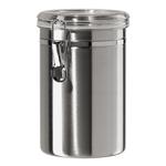 Oggi Stainless Steel 60 Ounce Canister with Airtight Acrylic Clamp Lid