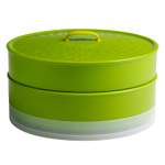 Chef'n SteamSum Arugula and Wasabi 10 Inch Stackable Steamer