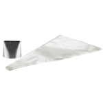 Cake Boss Extra Large Tip and Disposable 18 Inch Icing Bag Set