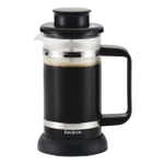 Bonjour Riviera Black 3 Cup French Press with Coaster