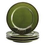 Bonjour Stoneware 8 Inch Salad Plate, Set of 4